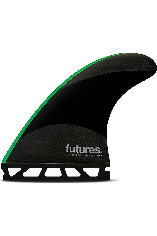 Future Fins Fins JJF-2 BLACK/NEON GREEN Tri