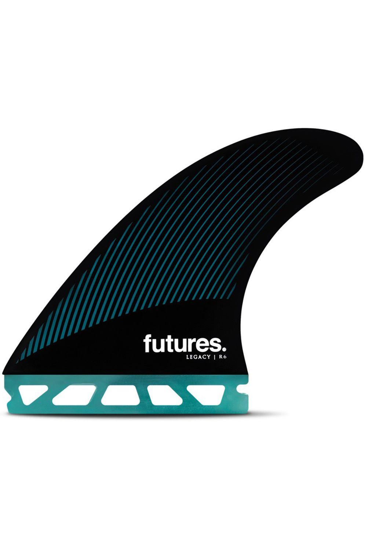 Future Fins Fins R6 TEAL/BLACK Tri