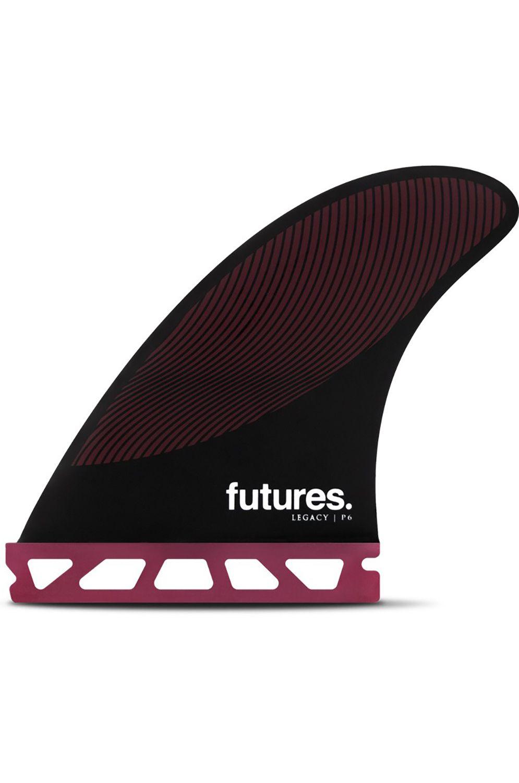 Future Fins Fins P6 BURGUNDY/BLACK Tri