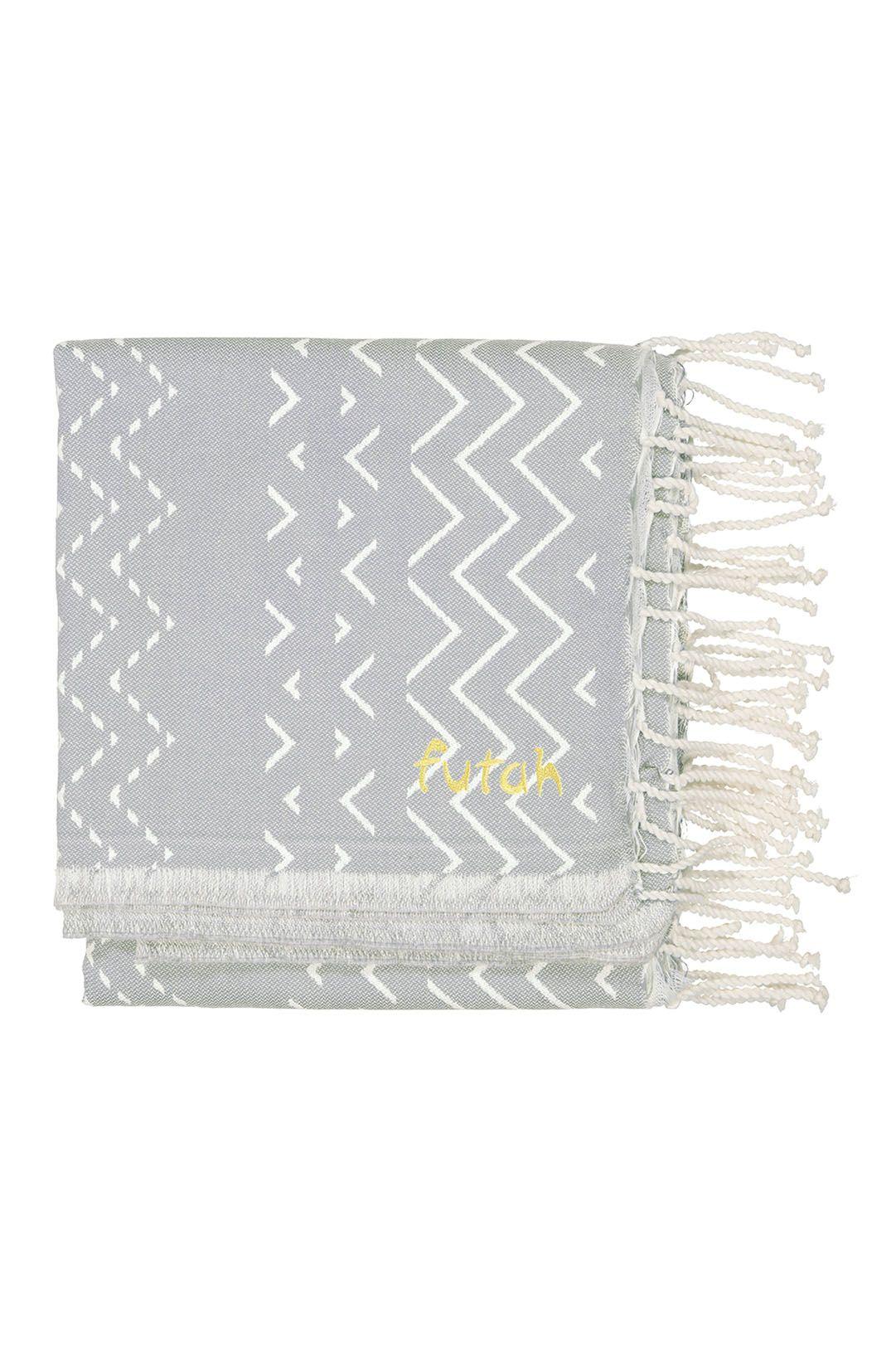 Futah Beach Towel BARRA XL Grey