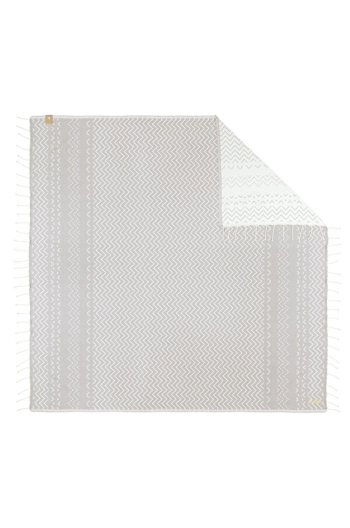 Toalha Futah BARRA XL Grey