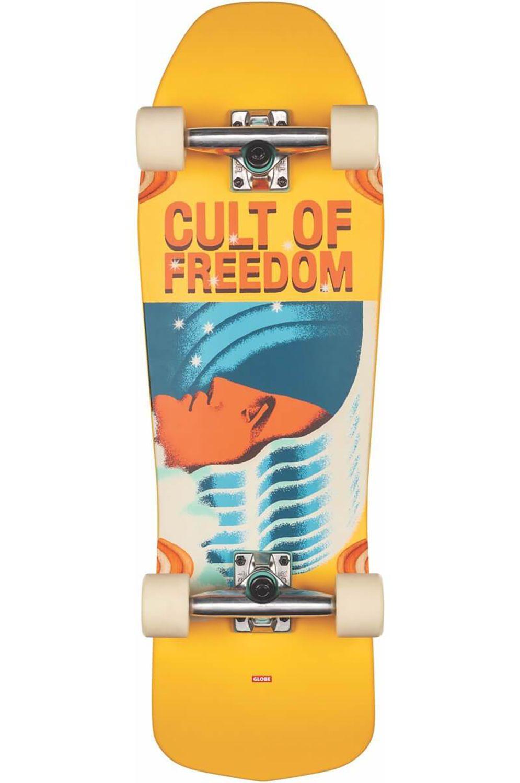 "Globe Cruiser Skate 30"" BLASTER Cult Of Freedom/Wavehead"