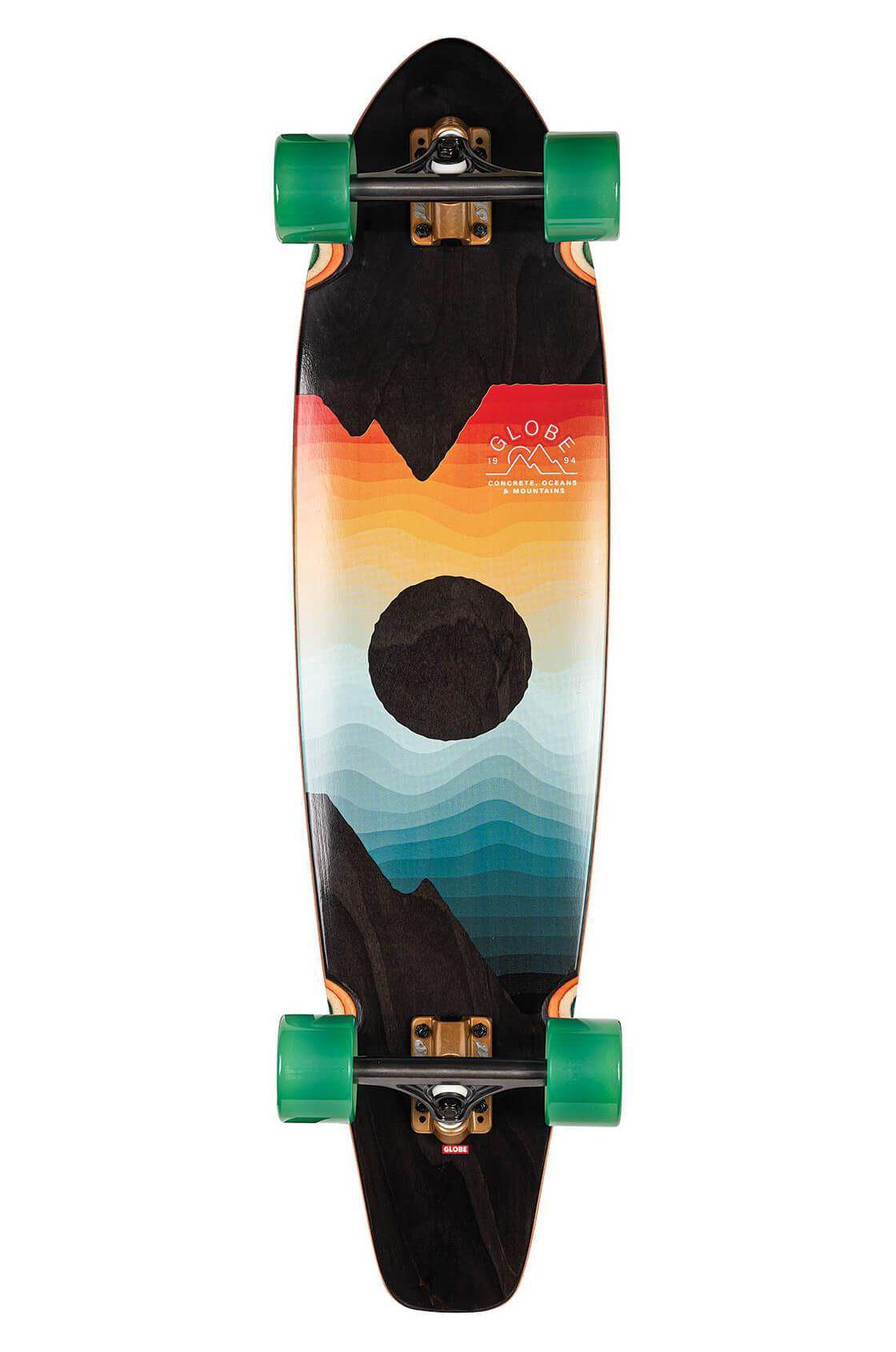 """Cruiser Skate Globe 36"""" ARCADIA Black Maple/Chromeset"""