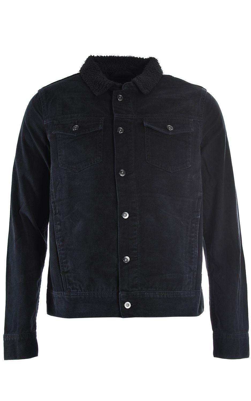 Globe Jacket STALKER DENIM Washed Black