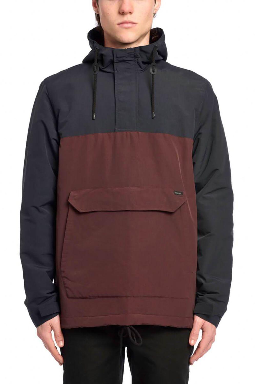 Globe Jacket FOCUS THERMAL ANORAK Oxblood
