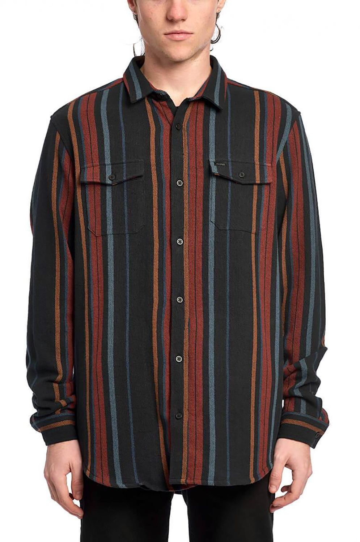 Camisa Globe VERTIGO LS SHIRT Rust