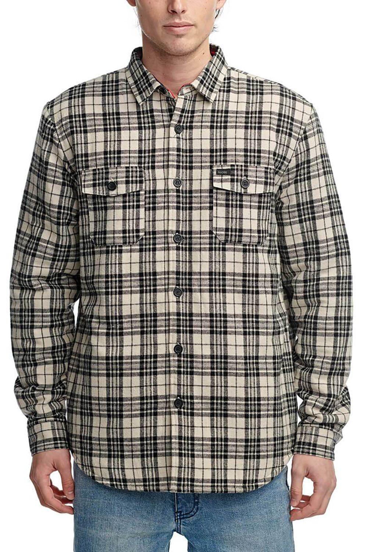 Globe Shirt CAMDEN II LS SHIRT Cashew