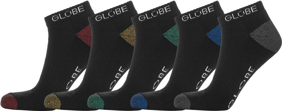 Meias Globe INGLES ANKLE 5 PACK Assorted