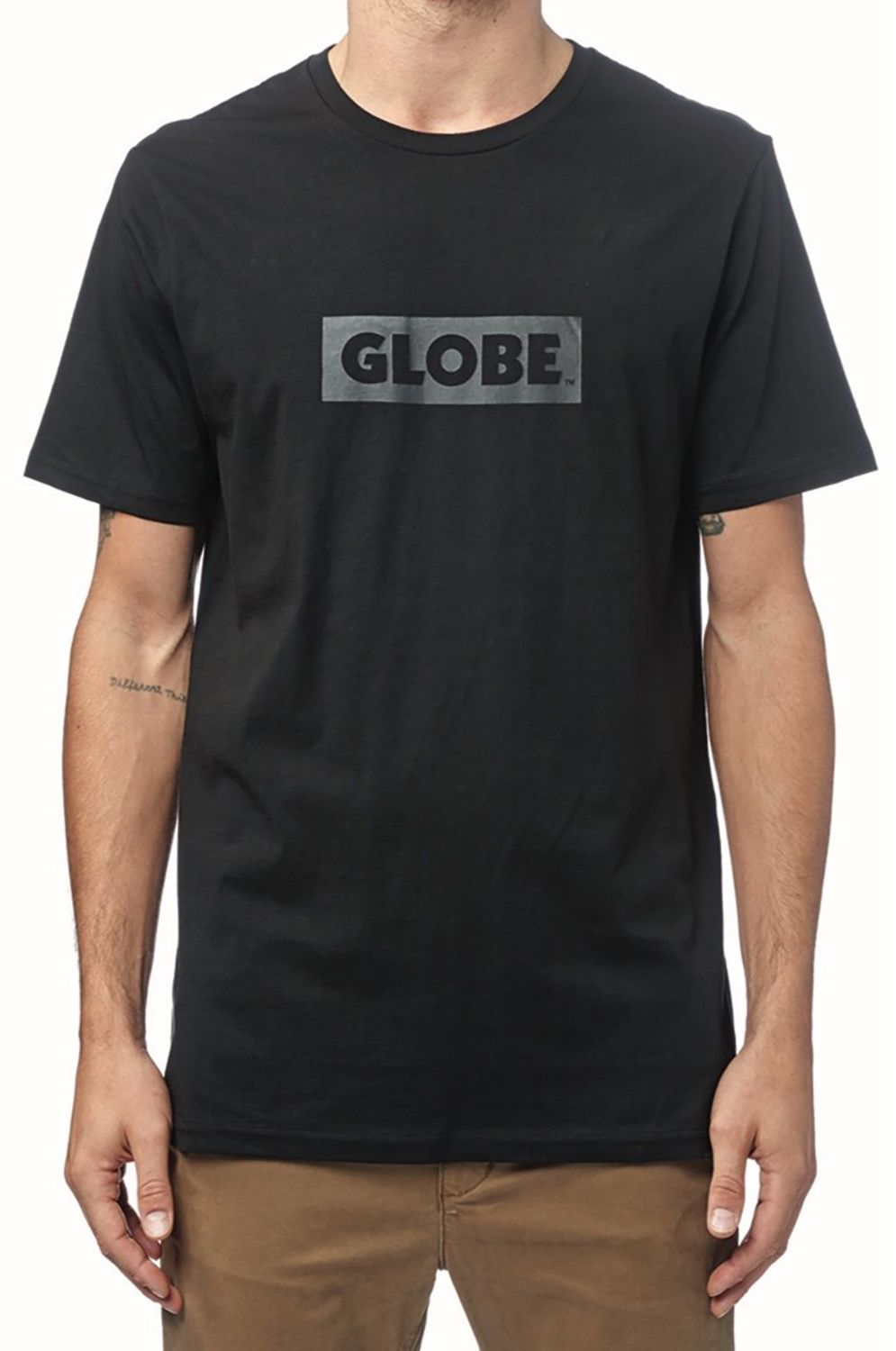 T-Shirt Globe BOX TEE Ultrablack