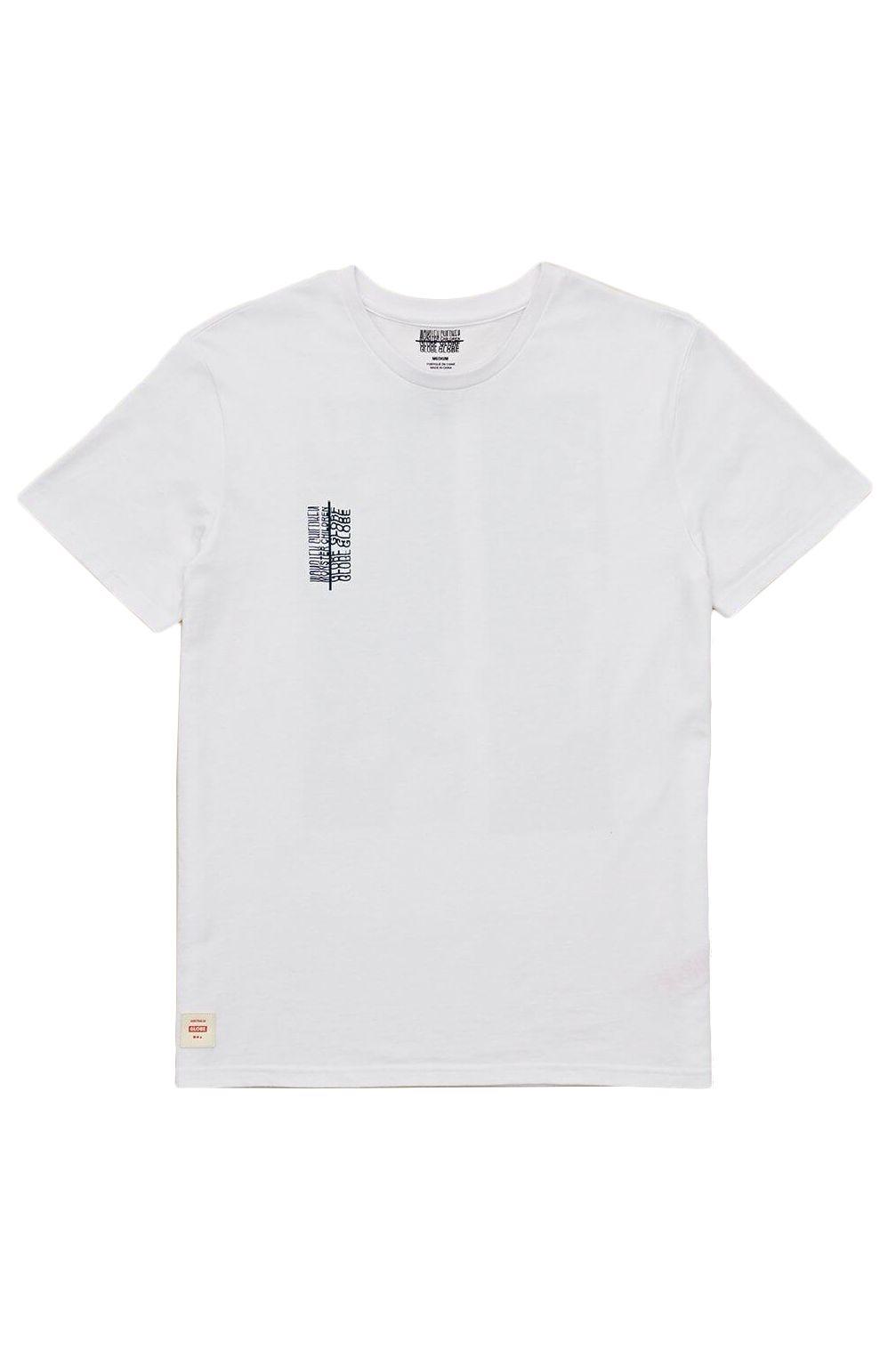 T-Shirt Globe REFUSE BUBBLEGUMTEE White
