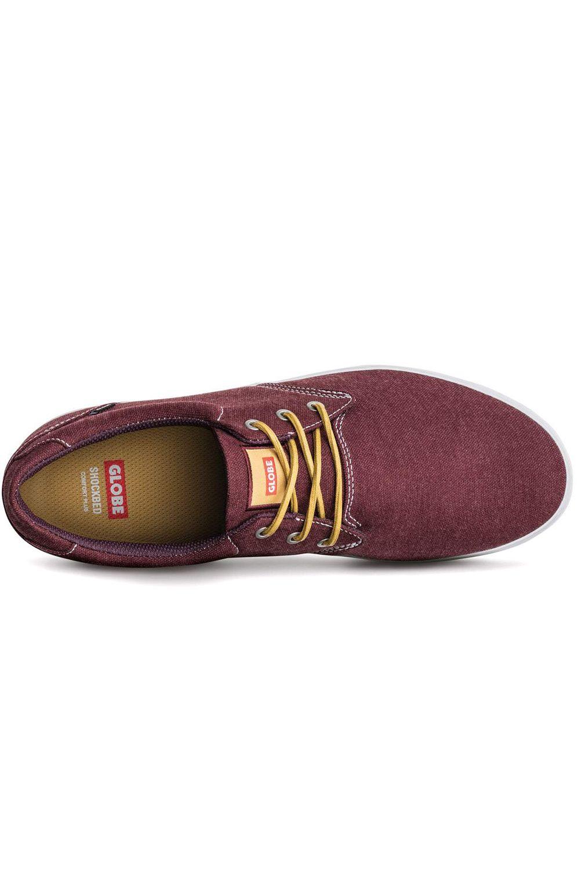 Globe Shoes WINSLOW Burgundy/Chambray