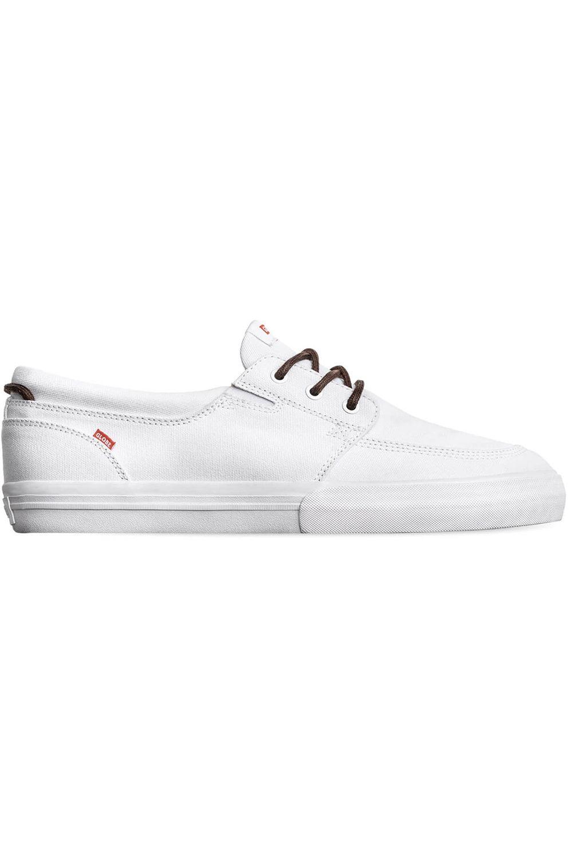 Globe Shoes ATTIC White Canvas