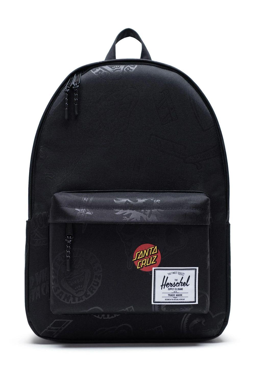 Herschel Backpack CLASSIC X-LARGE Black Speed Wheels
