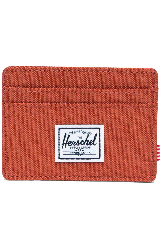 Carteira Herschel CHARLIE RFID Picante Crosshatch