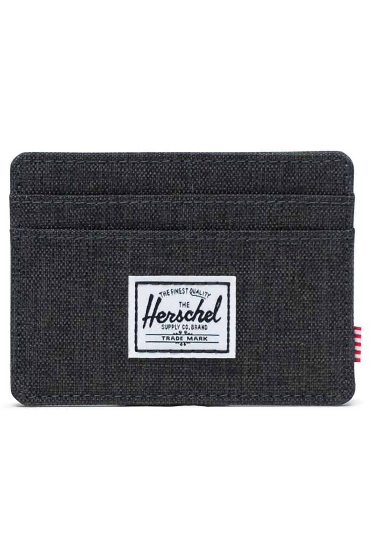 Herschel Wallet CHARLIE RFID Black Crosshatch