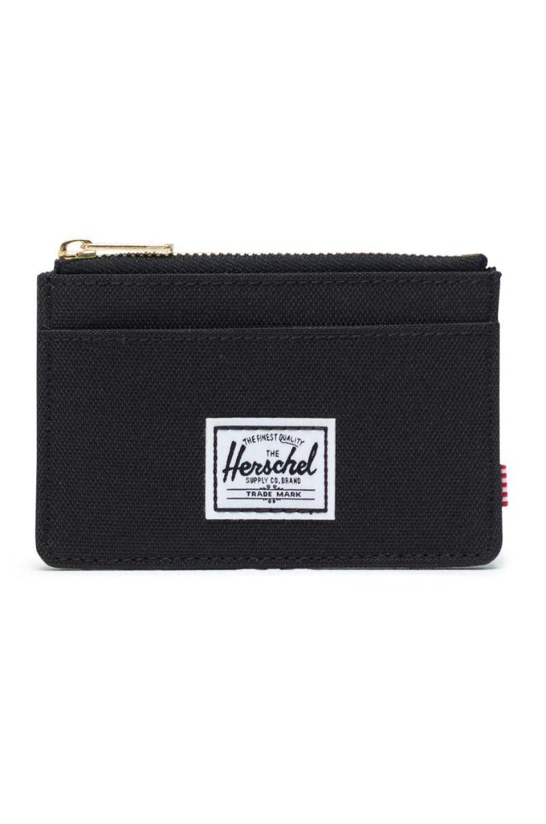 Carteira Herschel OSCAR RFID Black
