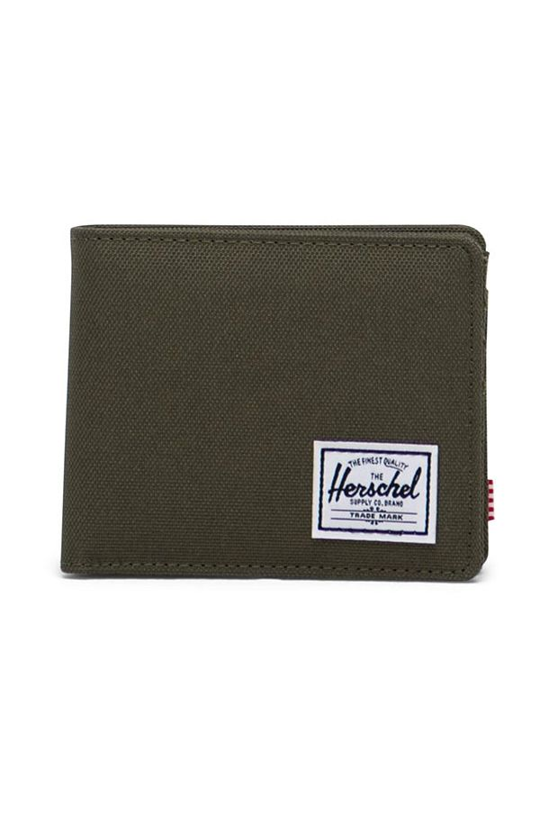 Carteira Herschel ROY COIN RFID Ivy Green