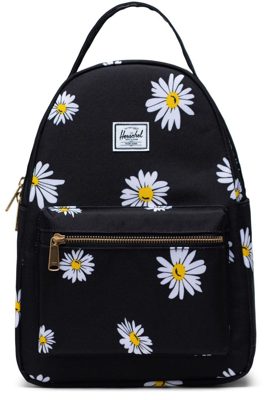 Herschel Backpack NOVA SMALL Daisy Black