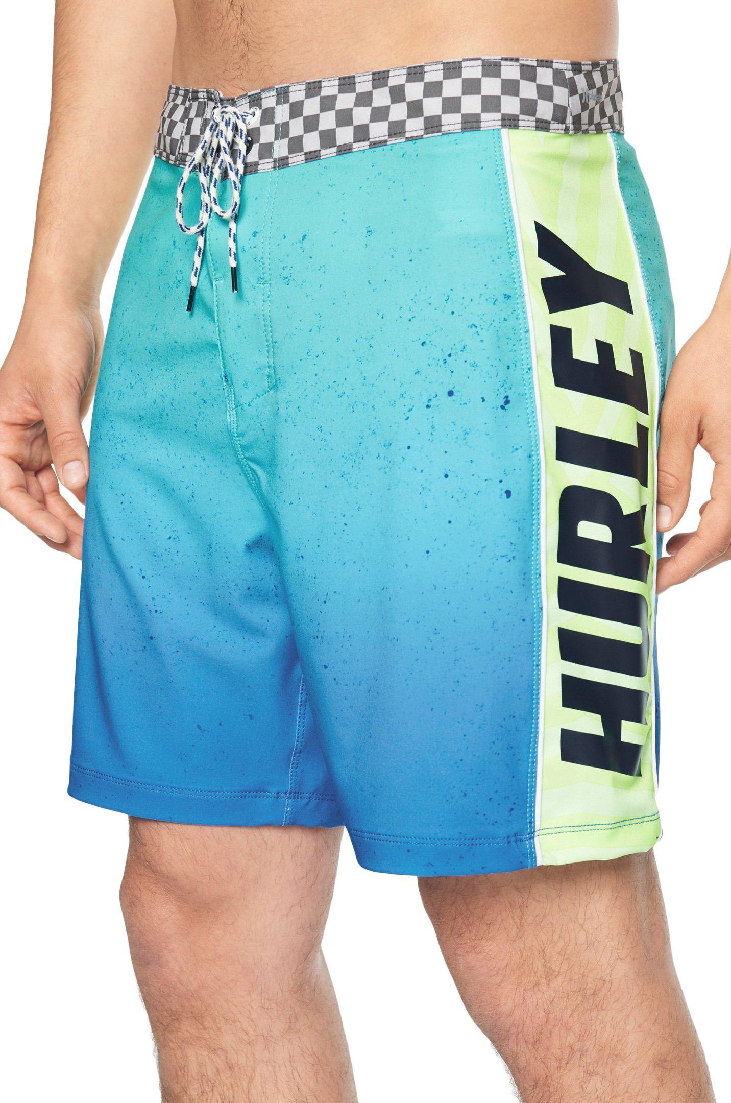 Boardshorts Hurley M PHTM FASTLANE FLASHBACK 18' Aurora Green