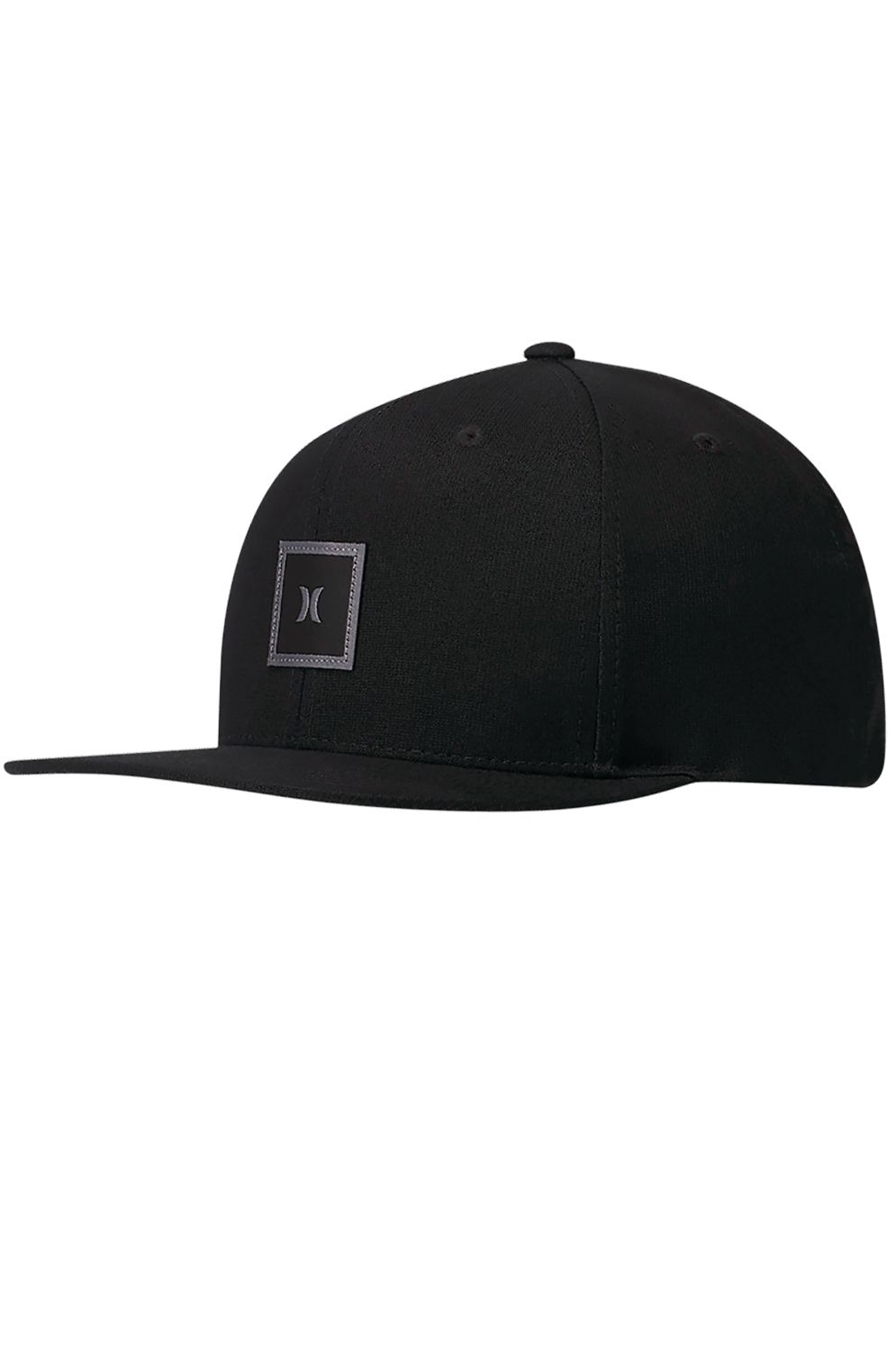 Hurley Cap   STORM ICON FLAT Black