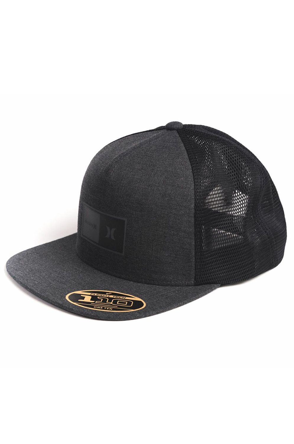 Bone Hurley M NATURAL 2.0 TRUCKER HAT Black Htr