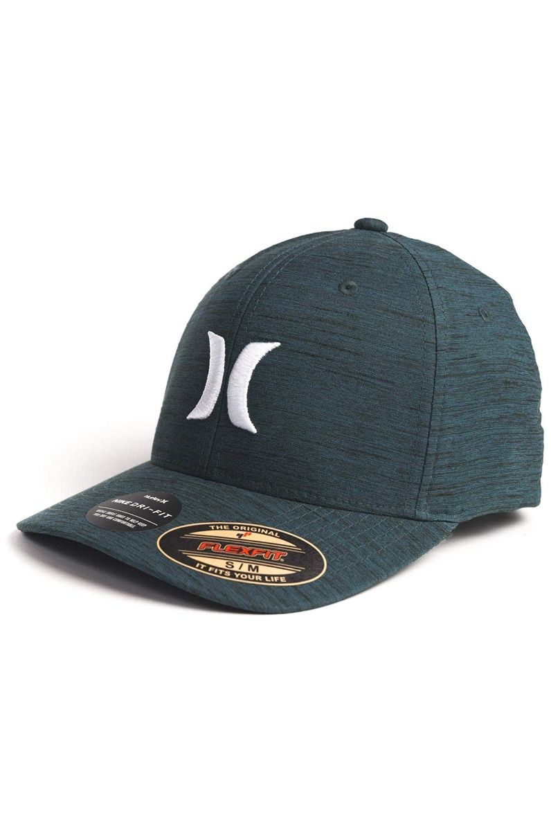 Bone Hurley M H20 DRI MARWICK ICON HAT Ash Green