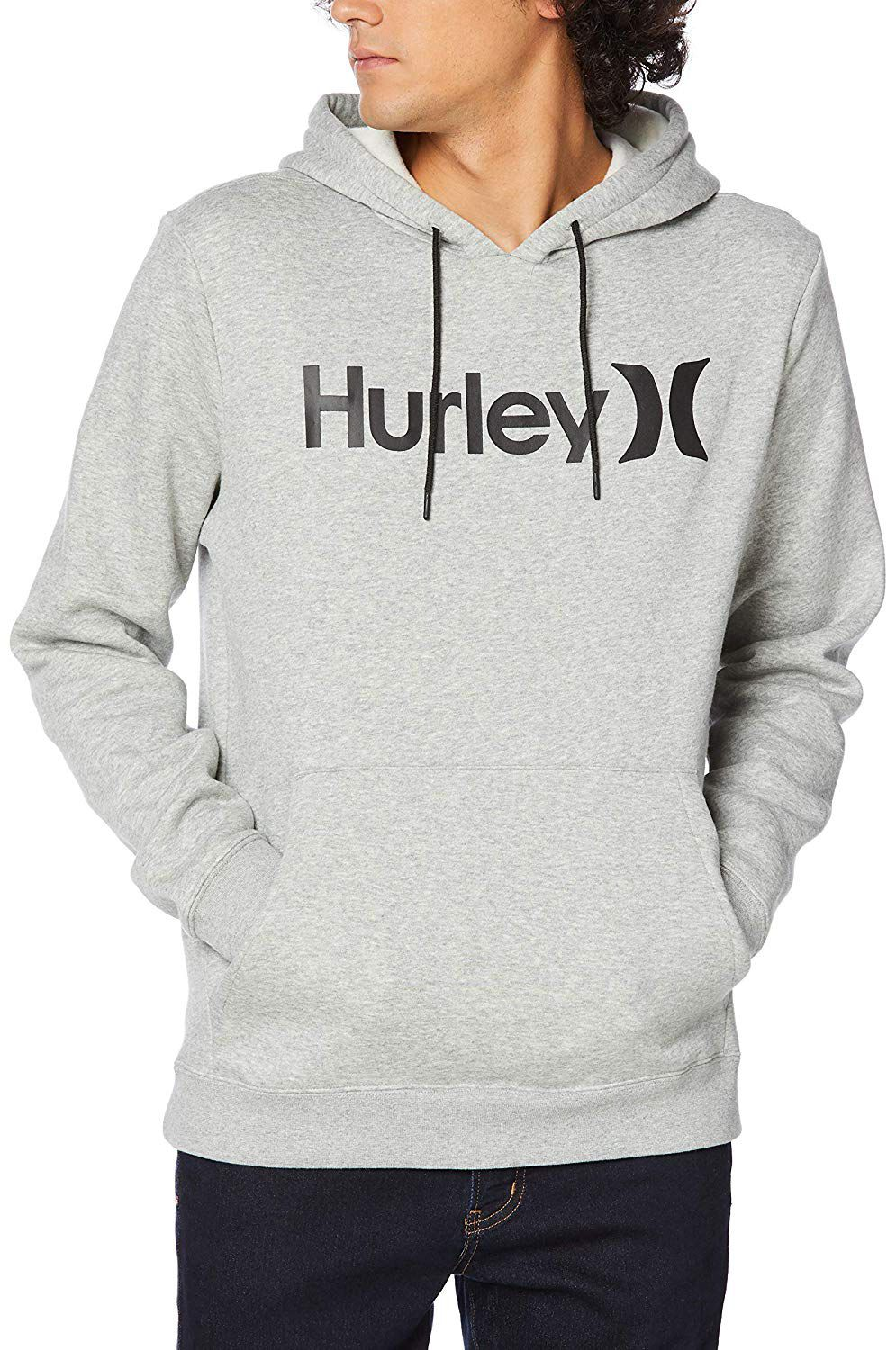Sweat Capuz Hurley SURF CHECK ONE & ONLY Cool Grey