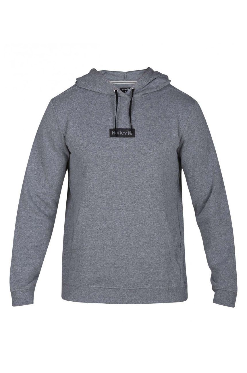 Sweat Capuz Hurley M CRONE ONE&ONLY BOXED PO Grey Heather