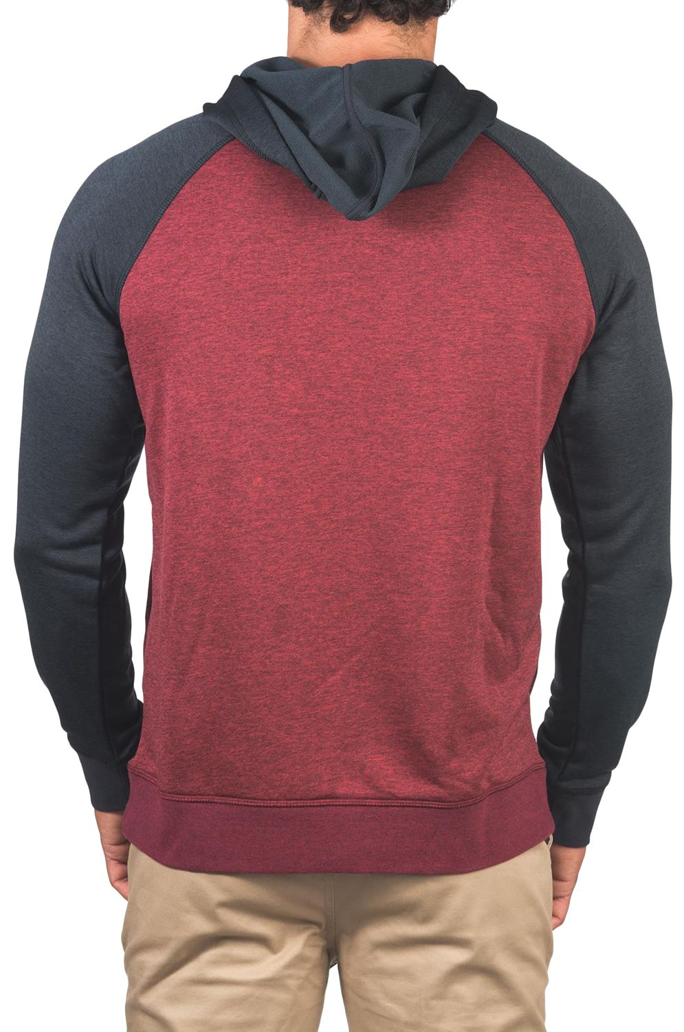 Sweat Capuz Hurley M DRI-FIT DISPERSE PULLOVER Gym Red