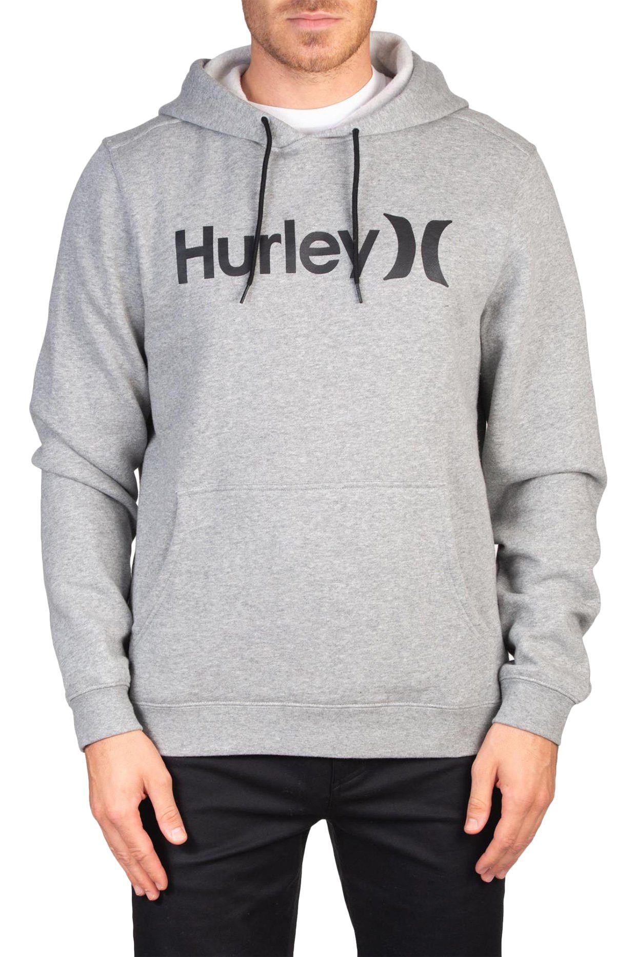 Sweat Capuz Hurley M ONE&ONLY PULLOVER Dark Grey Heather