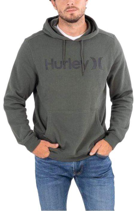Hurley Sweat Hood M OAO SOLID SUMMER PO Galactic Jade