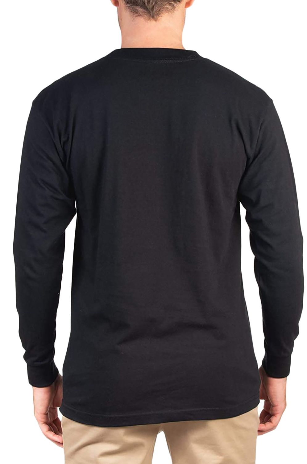 L-Sleeve Hurley M BOXED TEXTURE L/S Black