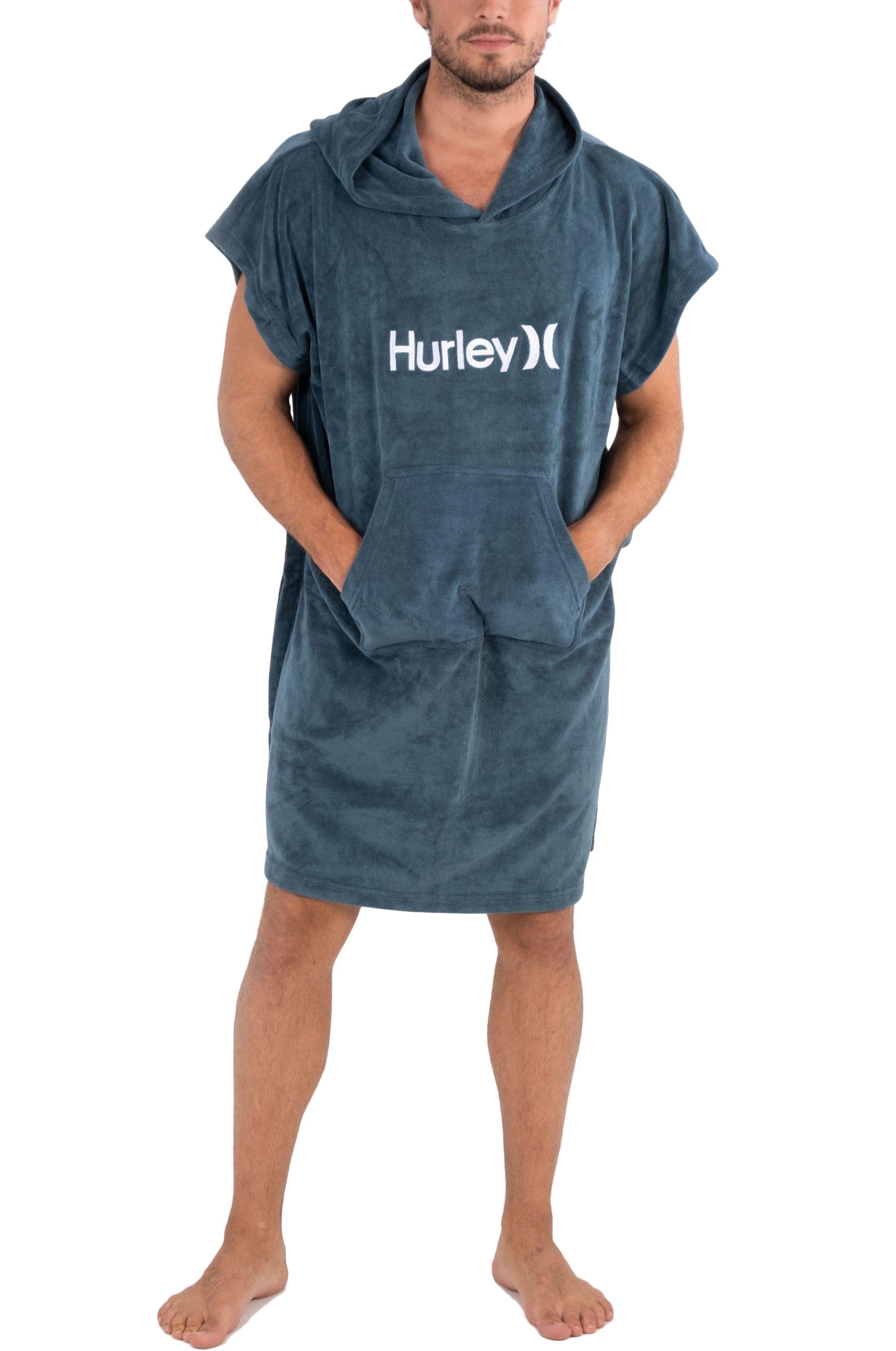 Poncho Hurley OAO HOODED TOWEL Hasta