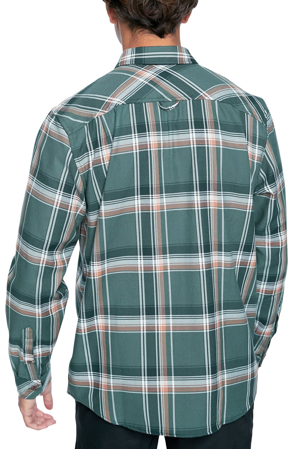 Camisa Hurley M DF HUNTER FLANNEL LS Vintage Green