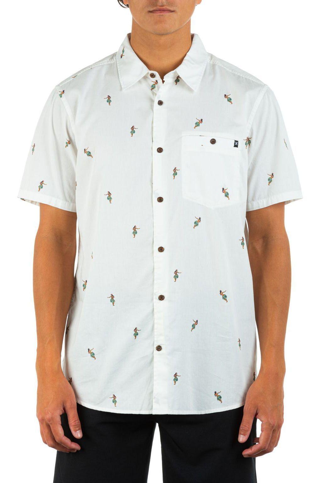 Camisa Hurley MORG WINDANSEA SS White