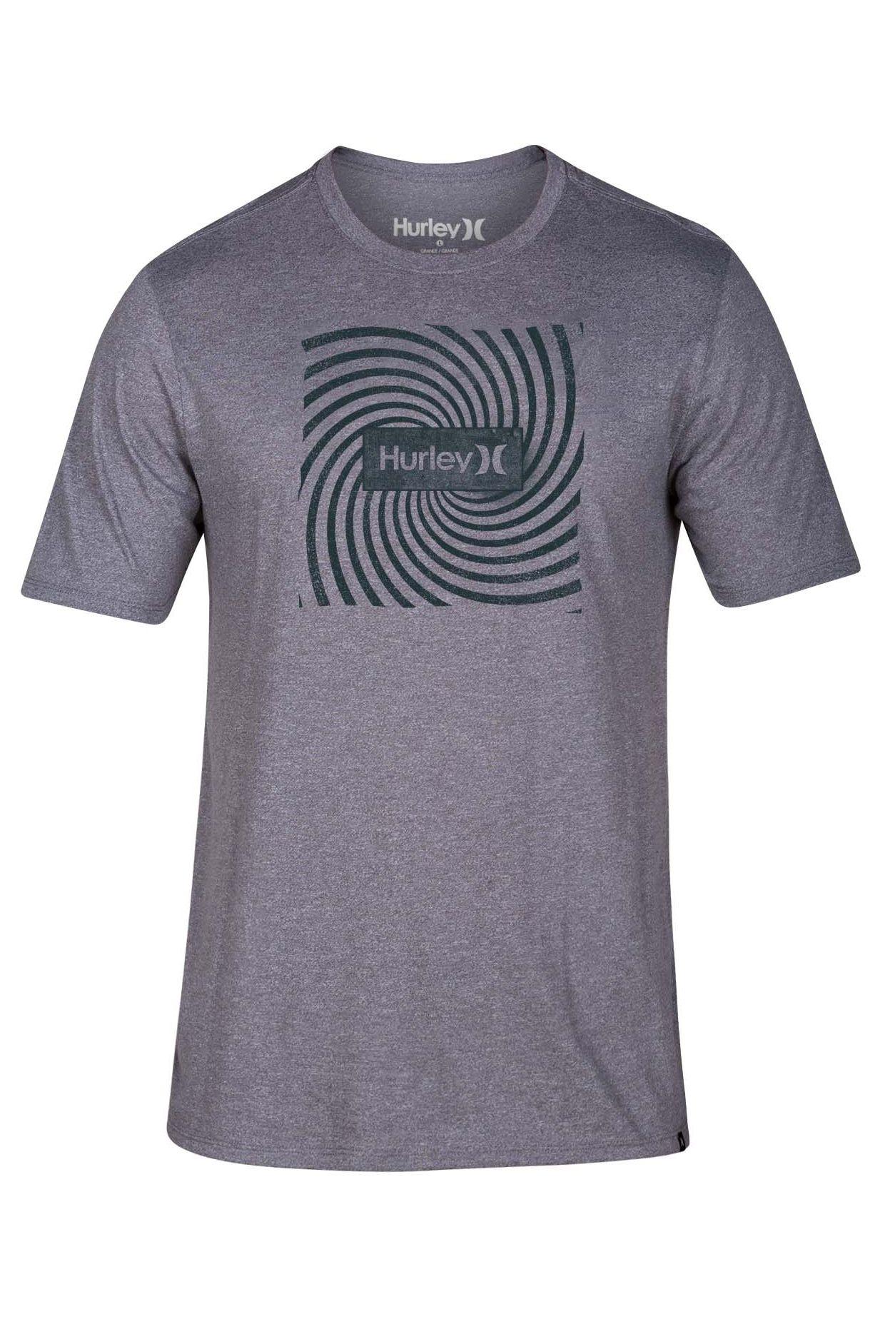 Hurley T-Shirt SIRO ABYSS Dark Grey Htr