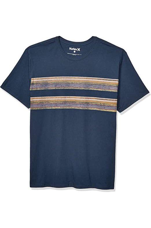 Hurley T-Shirt M PENDLETON BADLAND TEE Armory Navy