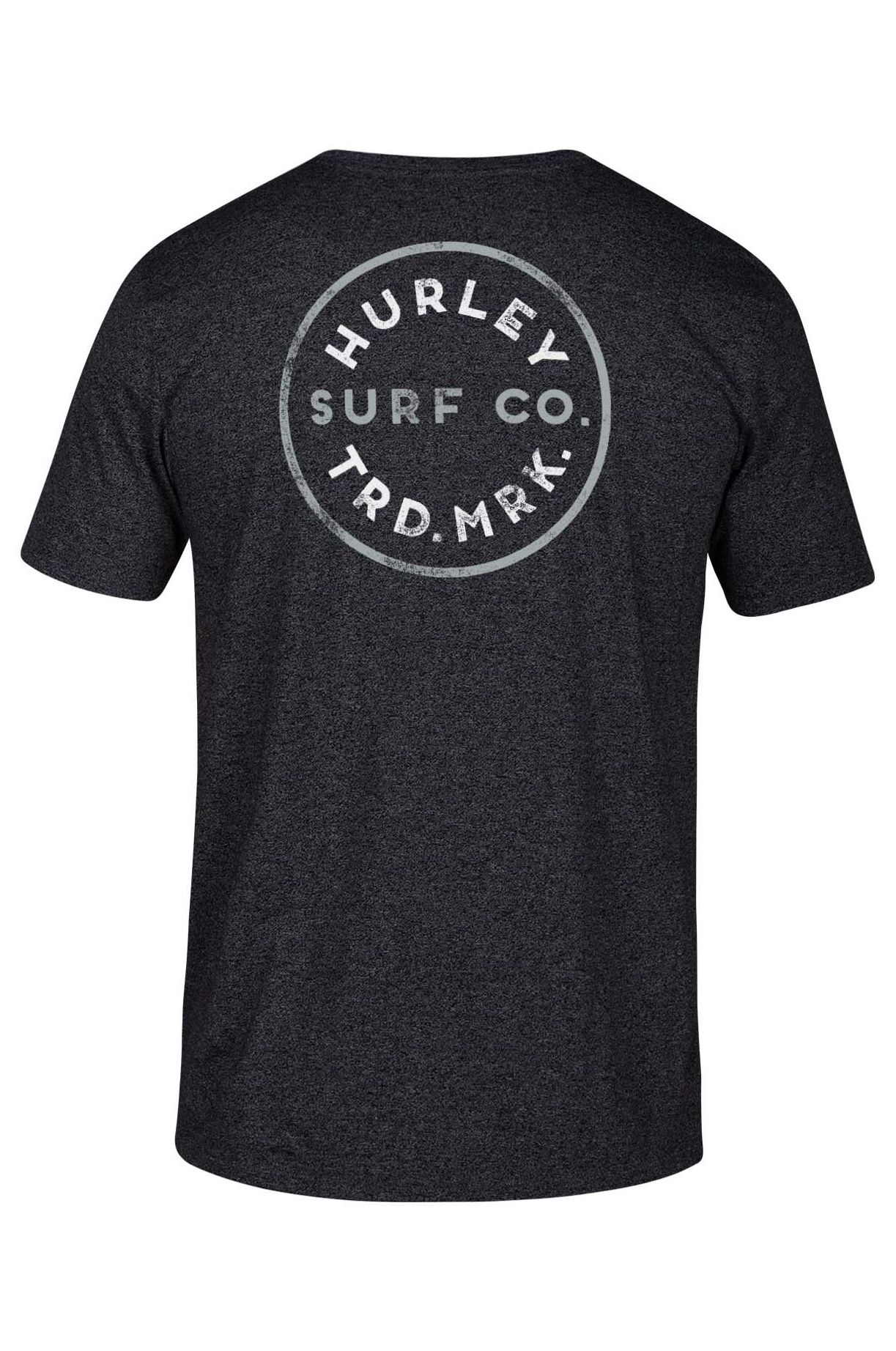 T-Shirt Hurley M HAYDEN TEE Black Htr