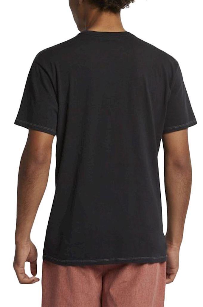 T-Shirt Hurley M LTWT CHAOS TIGER TEE Black
