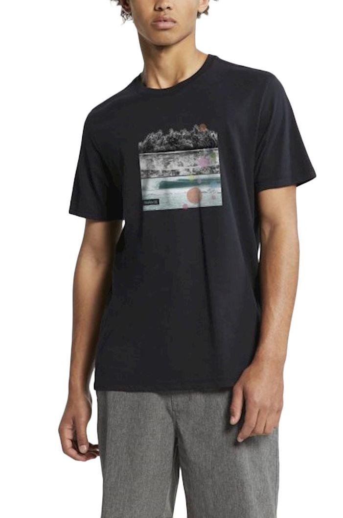 Hurley T-Shirt M DRI-FIT HOT SPOTS TEE Black