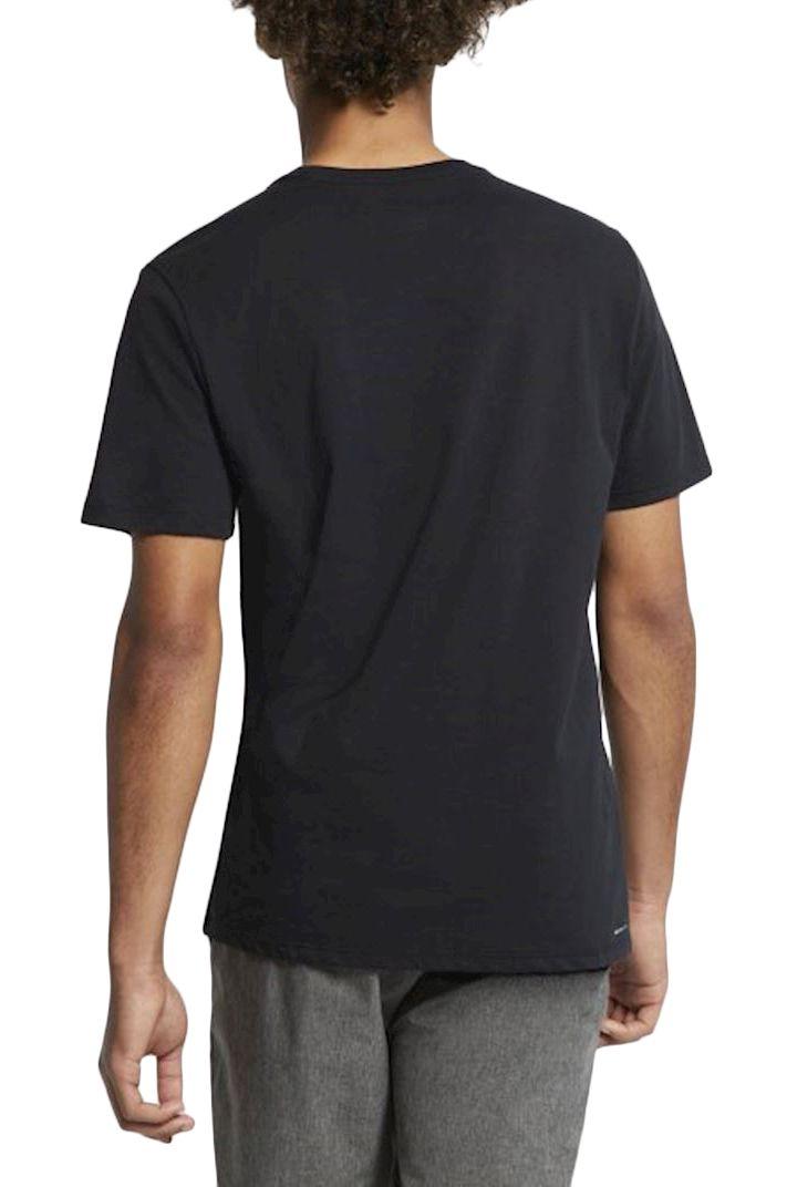 T-Shirt Hurley M DRI-FIT HOT SPOTS TEE Black