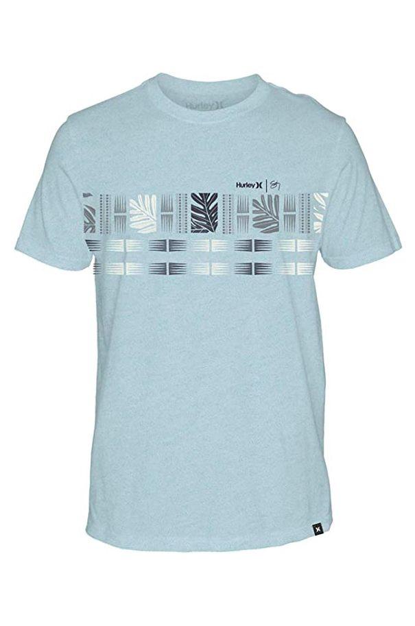 T-Shirt Hurley M SIGZANE MALOULU TEE Topaz Mist Htr