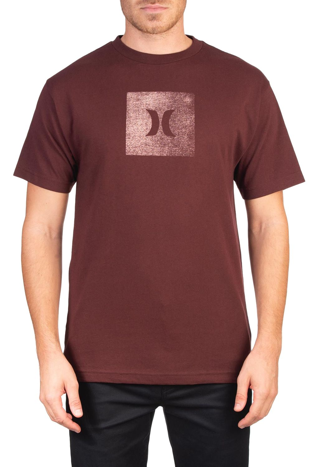 T-Shirt Hurley M CORE ICON BOX TEXTURE S/S Mystic Dates