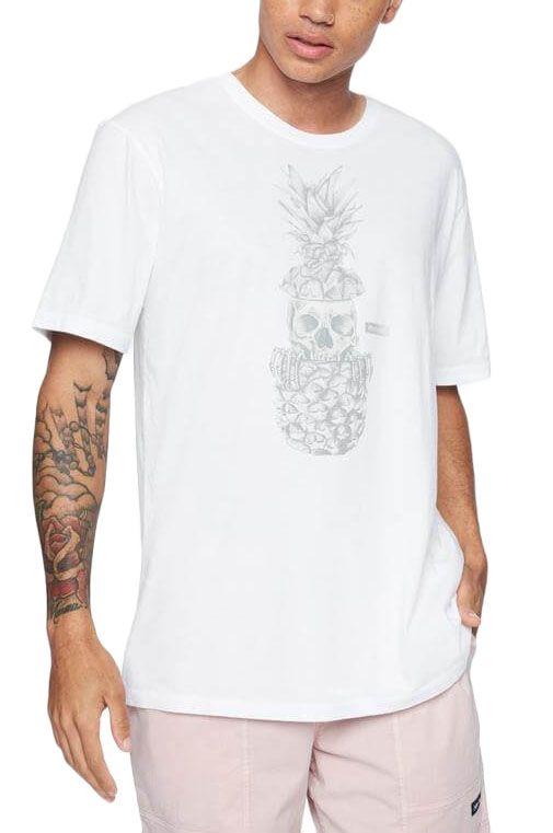 T-Shirt Hurley M EVD WSH PEEKS SS White