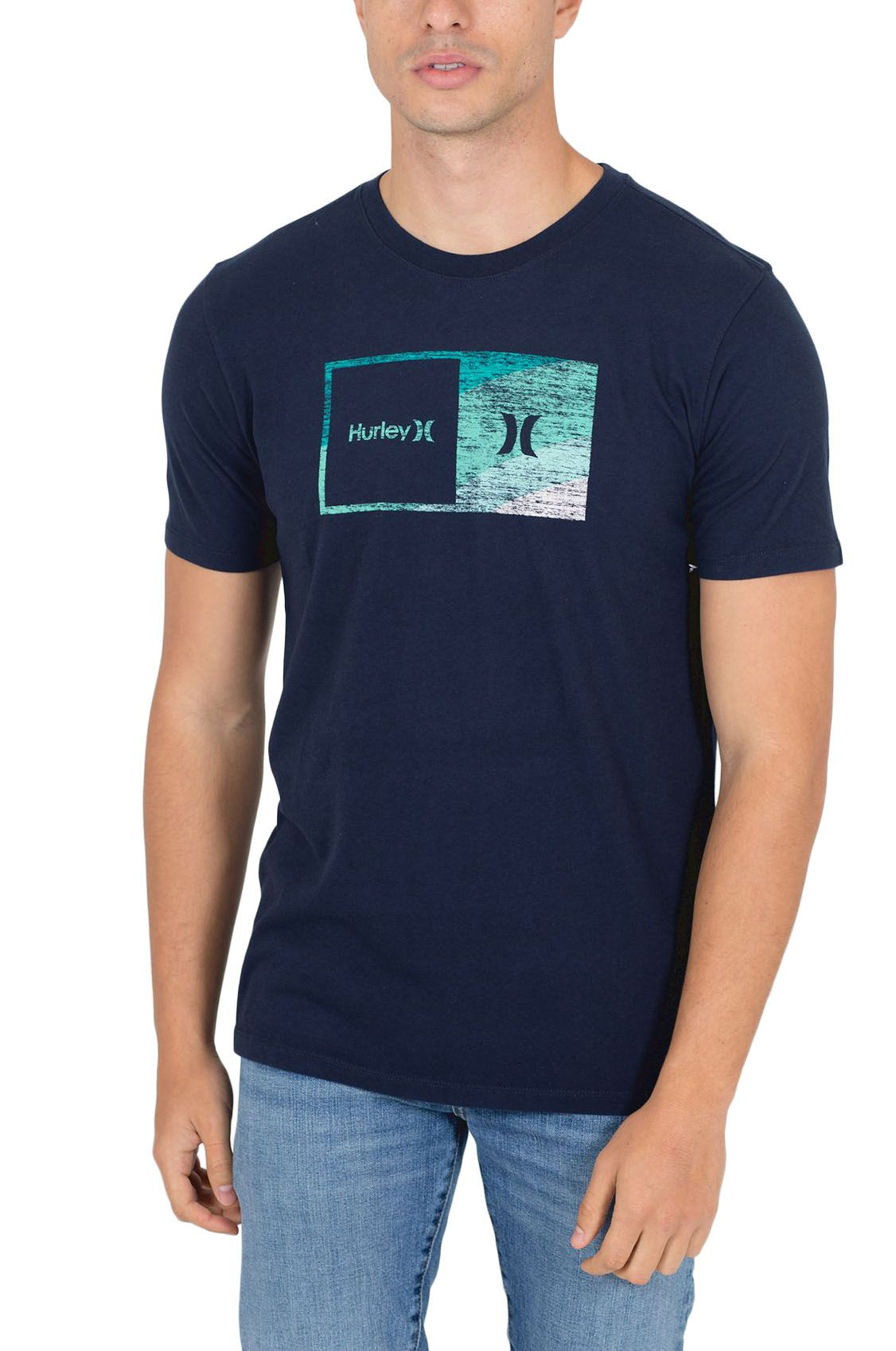 T-Shirt Hurley M EVD WSH HALFER SWAMIS SS Obsidian