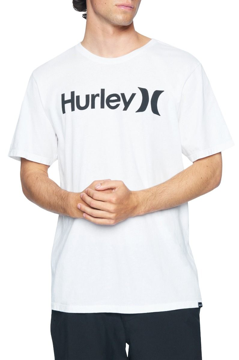 T-Shirt Hurley M EVD WSH OAO SOLID SS White