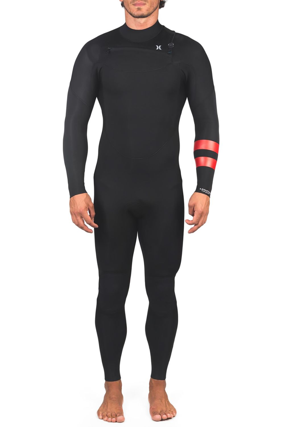 Hurley Wetsuit M ADVANTAGE PLUS 4/3MM FS Black