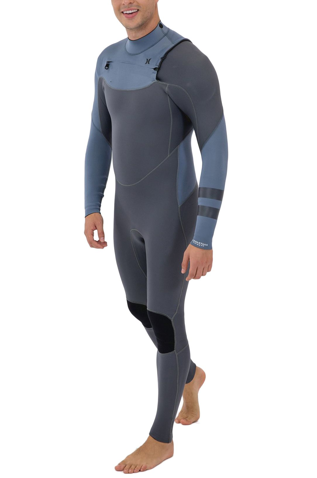 Fato Neoprene Hurley M ADVANTAGE PLUS 4/3MM FS Smoke Grey