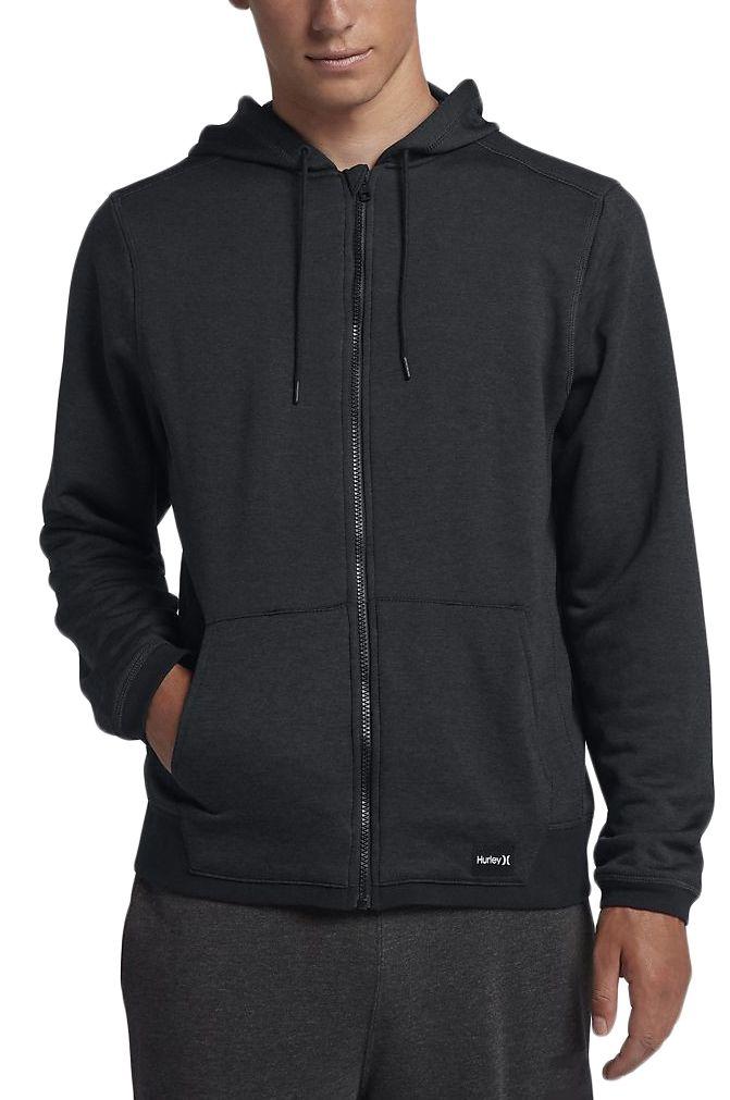 Hurley Sweat Zip Hood M DRI-FIT DISPERSE FULL ZIP Black