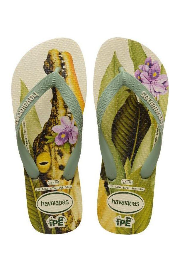 Havaianas Sandals IPE Beige/Mineral Green